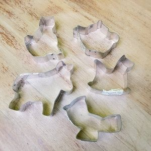 Vintage |  Cookie Cutters Teapot Rocking Horse
